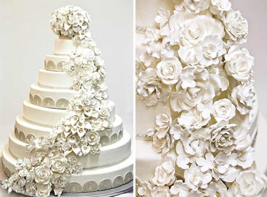 Chelsea Clinton And Marc Mezvinksy Wedding Cake
