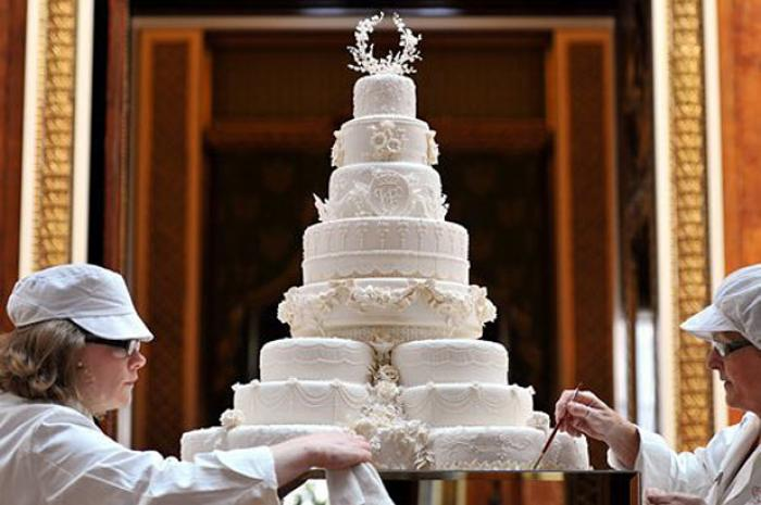 Prince William and Kate Middleton wedding cake