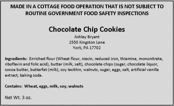 Virginia Foods Chocolate Cookies