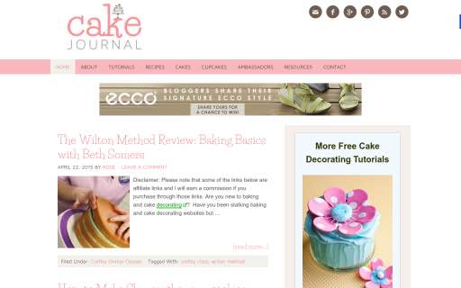 22 Gorgeous Cake & Bakery Websites to Inspire Your Baking   BakeCalc